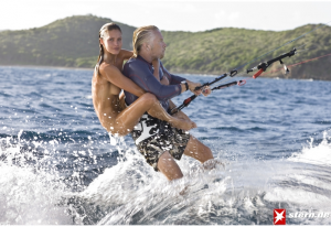 richard-branson-naked-supermodel-kitesurfing